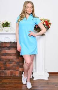 Платье короткое классическое облегающее Р7649