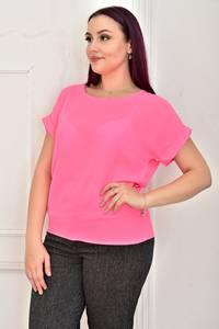 Блуза розовая Ц9806