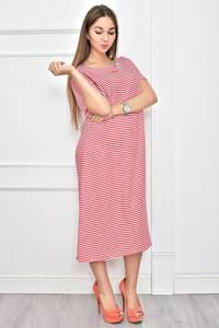 Платье длинное нарядное с принтом Ф0288