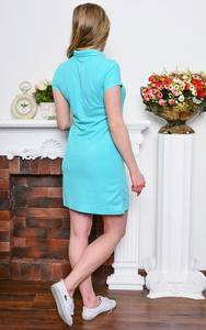 Платье короткое классическое облегающее Р7651