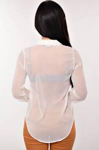 Блуза белая прозрачная CNNT-08