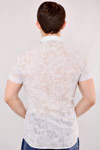 Рубашка 13-0232-40(сер.)