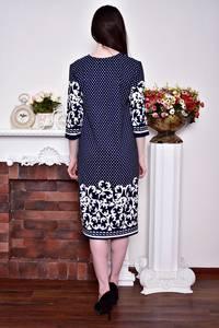 Платье длинное зимнее вечернее Р8870