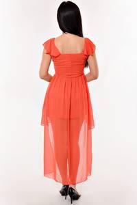 Платье короткое элегантное нарядное К1606
