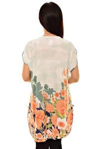 Блуза белая нарядная К8738