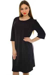 Платье короткое черное вечернее Н1966