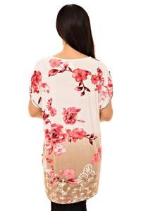 Блуза белая нарядная К8740