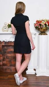 Платье короткое классическое облегающее Р7658