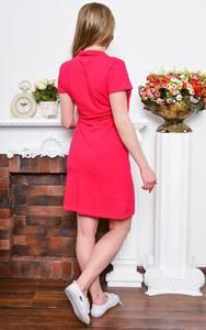 Платье короткое классическое облегающее Р7660