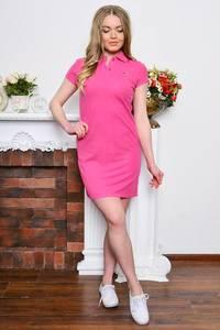 Платье короткое классическое облегающее Р7661
