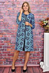 Платье короткое деловое с принтом Т5959