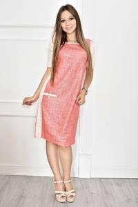 Платье короткое летнее с коротким рукавом Т6785