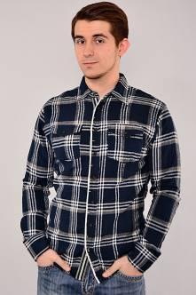 Рубашка N-13029(темно-син.)