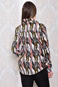 Рубашка с длинным рукавом с принтом С8143