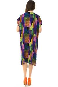 Платье короткое трикотажное нарядное Н7191