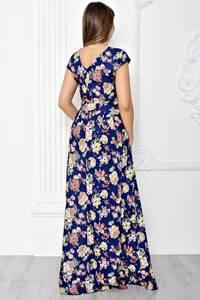 Платье длинное летнее с принтом Т1838