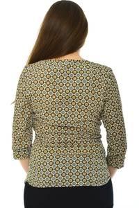 Блуза офисная нарядная Н4757