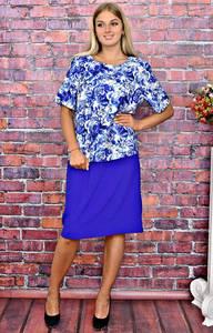 Платье короткое летнее офисное Т5881