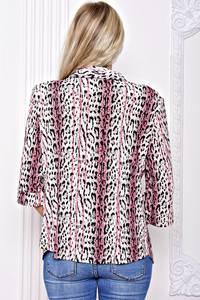 Рубашка с принтом с коротким рукавом С8921