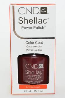 CND Shellac Crimson Sash Н2698