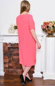Платье длинное вечернее красное Р7694