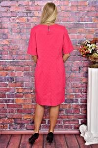 Платье короткое однотонное деловое Т5894