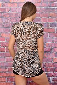 Блуза летняя с коротким рукавом У7981
