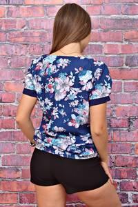 Блуза летняя с коротким рукавом У7982