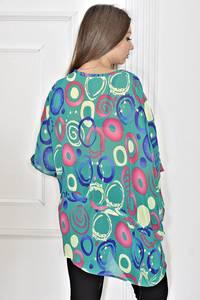 Блуза нарядная летняя Т6748