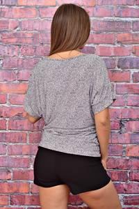 Блуза летняя с коротким рукавом У7984