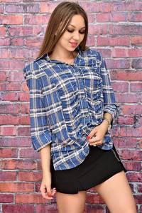 Рубашка с принтом У7985