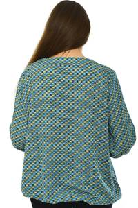 Блуза офисная праздничная Н4767