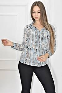 Рубашка с длинным рукавом Т6756