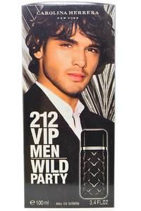Туалетная вода Carolina Herrera 212 Vip Men Wild Party М7616