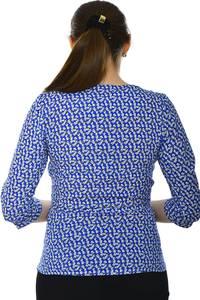 Блуза офисная нарядная Н4769