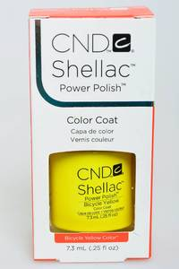 CND Shellac Bicycle Yellow Н2702