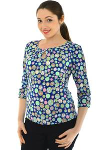 Блуза летняя праздничная Н4773