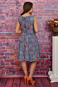 Платье короткое без рукавов летнее Т4272
