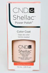 CND Shellac Clearly Pink Н2711
