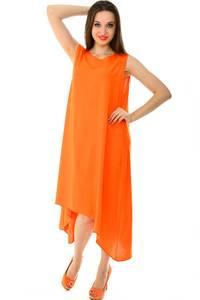 Платье длинное летнее однотонное Н7231