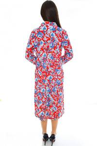 Платье длинное трикотажное летнее Н2354