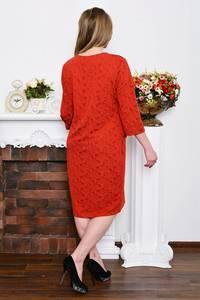 Платье длинное зимнее деловое Р5327