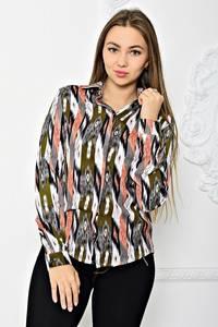 Рубашка с длинным рукавом с принтом Т1905