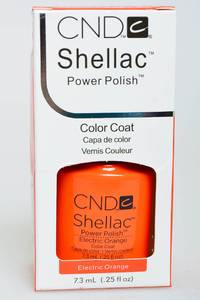 CND Shellac Electric Orange Н2720