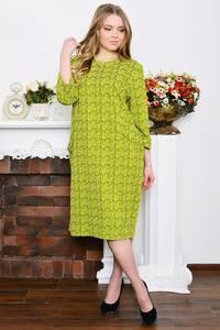Платье длинное зимнее деловое Р5328