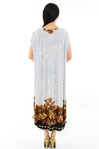 Платье длинное белое нарядное М3640