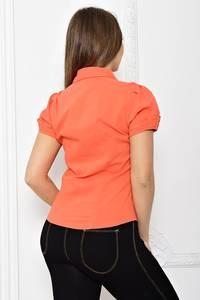Рубашка красная с коротким рукавом Т2073