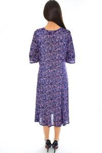 Платье длинное трикотажное нарядное Н2356