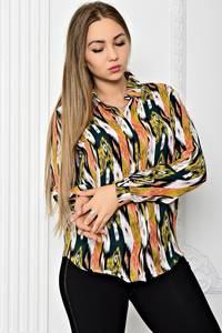 Рубашка с длинным рукавом с принтом Т1906