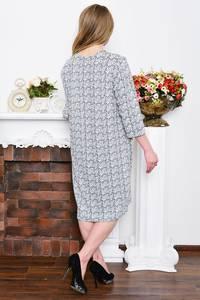 Платье длинное зимнее деловое Р5329